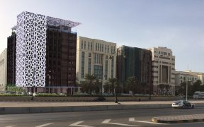 City Hotel. project - Muscat Sultanate of Oman - facade