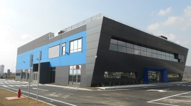 New headquarters and production building for AvioAero - cover