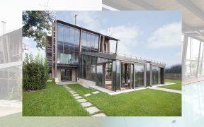 Qbo architetti associati Casa N - serra piscina cover