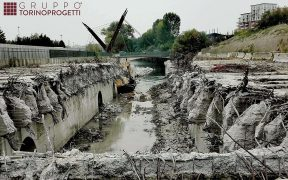 River Covering Demolition - cover